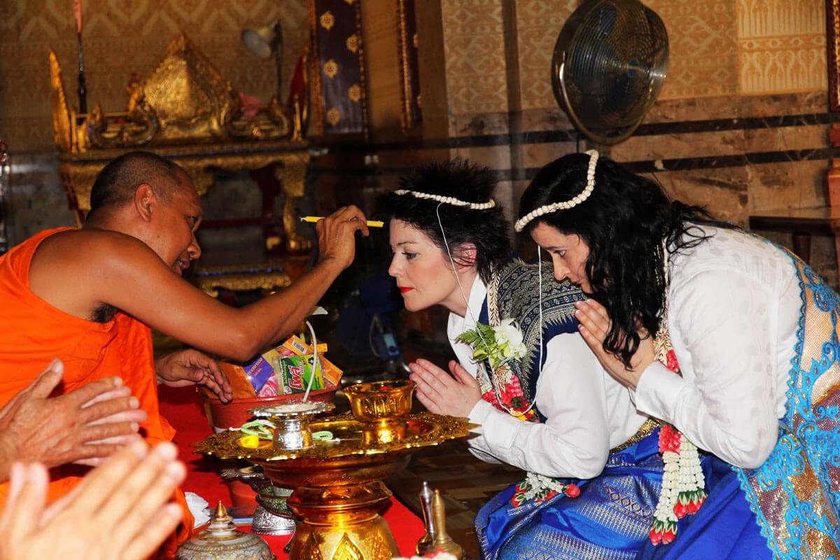 Same-Sex Buddhist Blessing