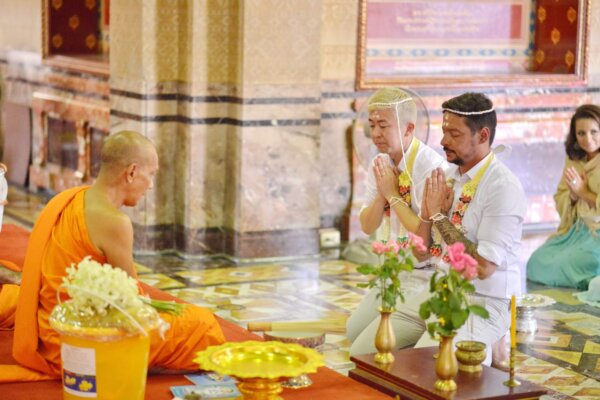 Same-Sex Blessing @ Temple : Afternoon